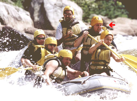 Me rafting on the Yough